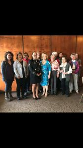 Attendees at monthly program luncheon
